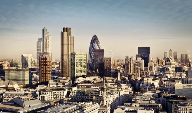 Ville de Londres image stock