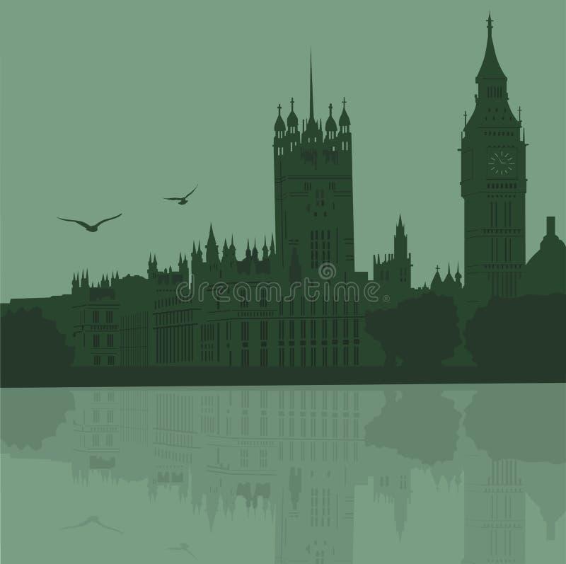 Ville de Londres illustration de vecteur