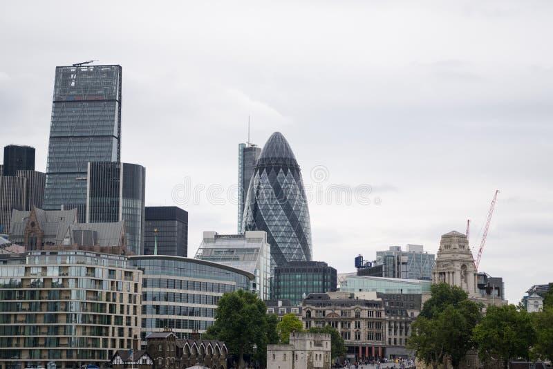 Ville de Londres, horizon carré de mille, Londres, Angleterre photo libre de droits