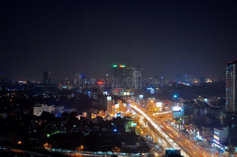 Ville de lumière image libre de droits
