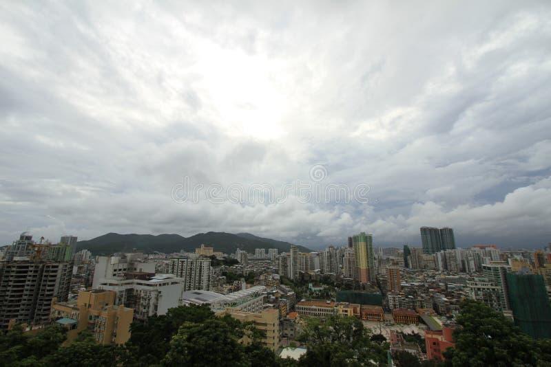 Ville de Macao image stock