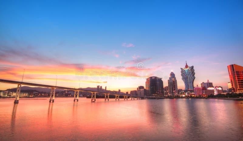 Ville de Macao images stock