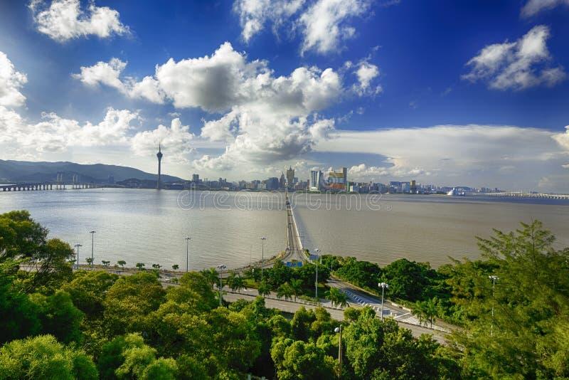 ville de Macao photos stock