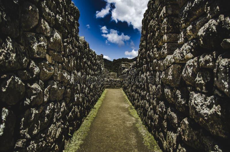 Ville de Machu Picchu images libres de droits