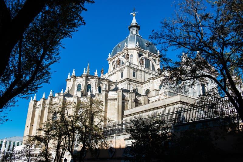 Ville de Madrid - tirs de l'Espagne image stock