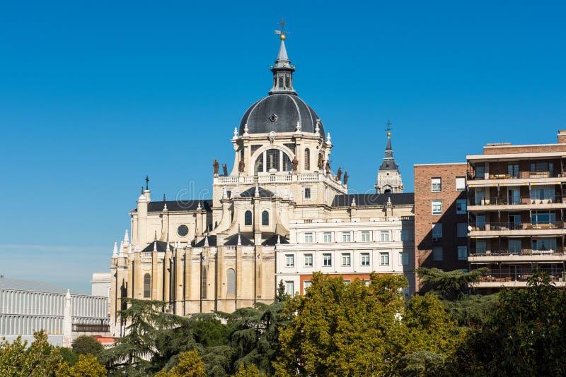 Ville de Madrid - tirs de l'Espagne photo stock