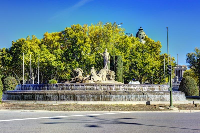 Ville de Madrid, tirs de l'Espagne - voyage l'Europe image stock