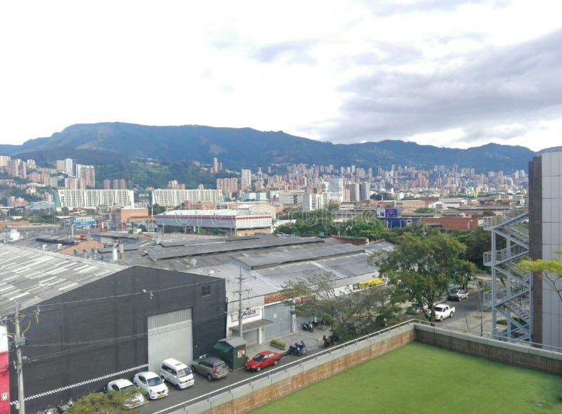 Ville de Medellin image stock