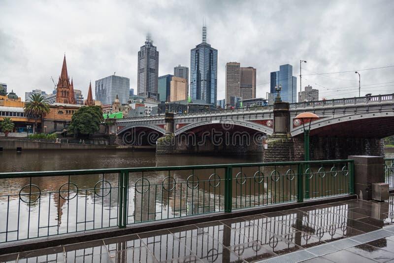 Ville de Melbourne photos stock