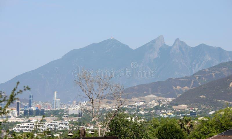 Ville de Monterrey photo stock