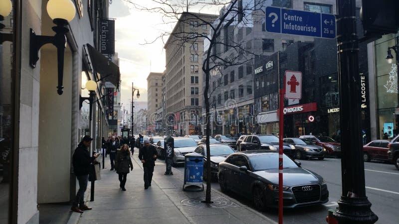 Ville de Montréal photographie stock