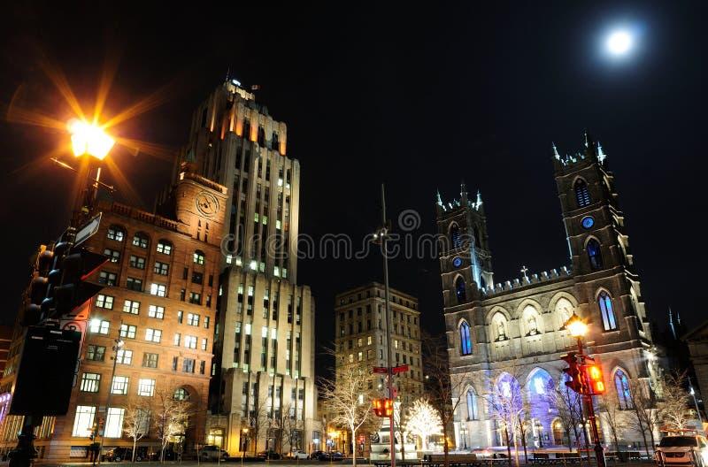 Ville de Montréal photographie stock libre de droits