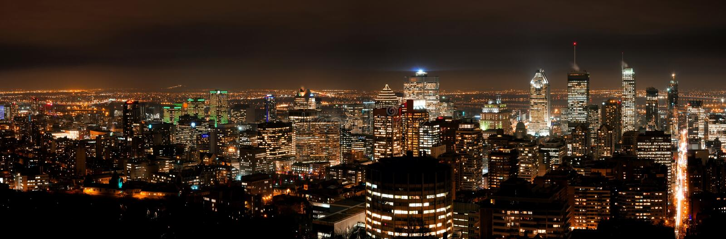 Ville de Montréal photos stock