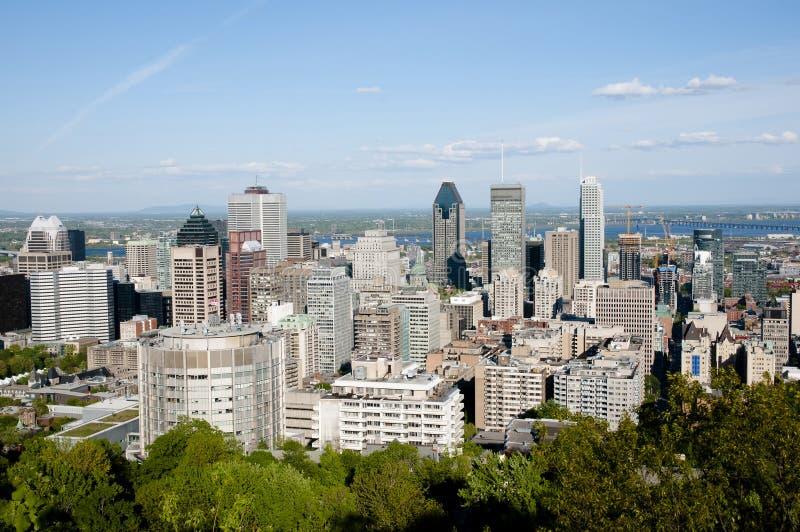 Ville de Montréal - Canada photo stock