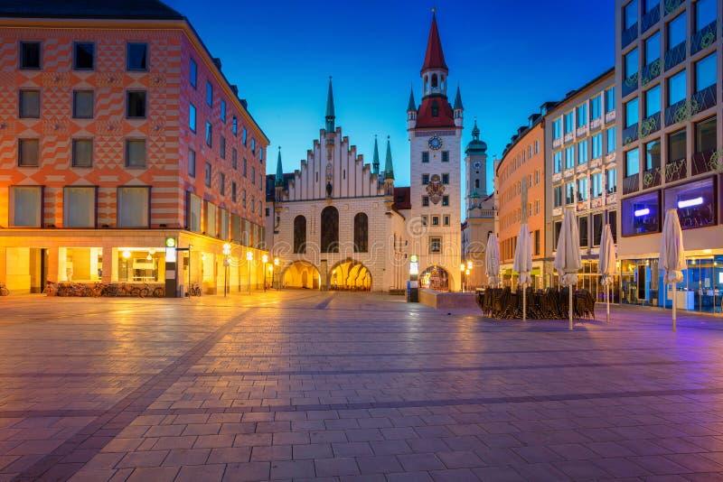 Ville de Munich photo libre de droits