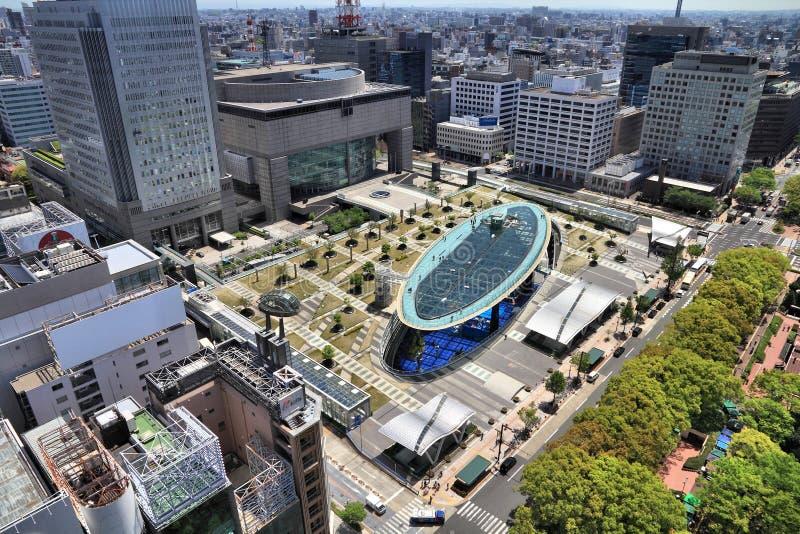 Ville de Nagoya, Japon images libres de droits