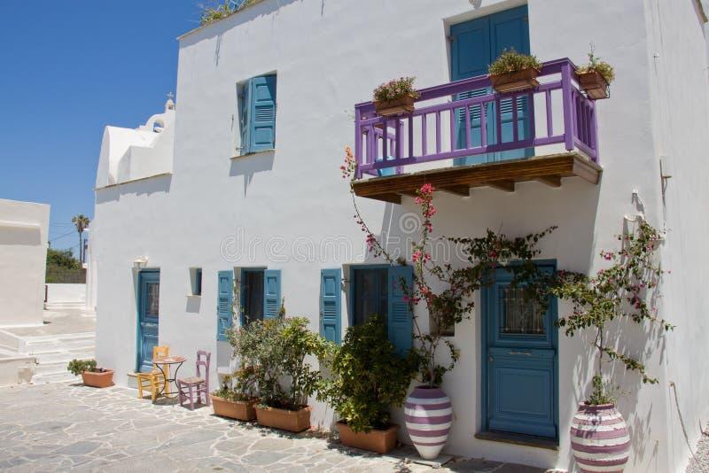Ville de Naxos, Grèce photo libre de droits