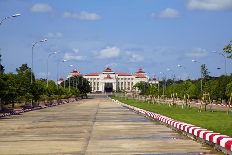 Ville de Naypyidaw (Nay Pyi Taw) images stock