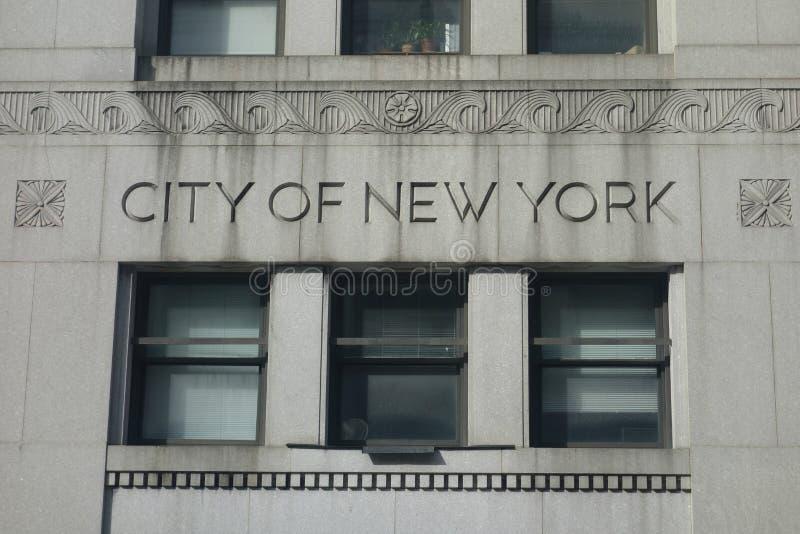 Ville de New-York images stock