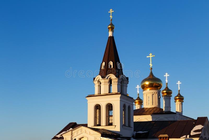 Ville de Nijni-Novgorod, Russie images libres de droits
