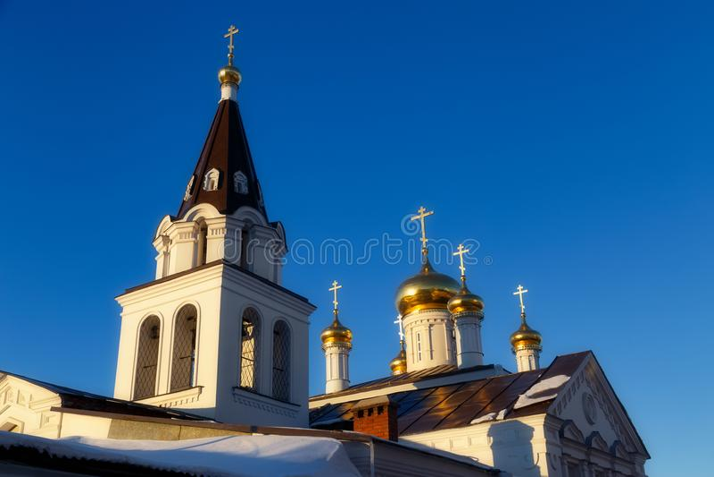 Ville de Nijni-Novgorod, Russie image stock