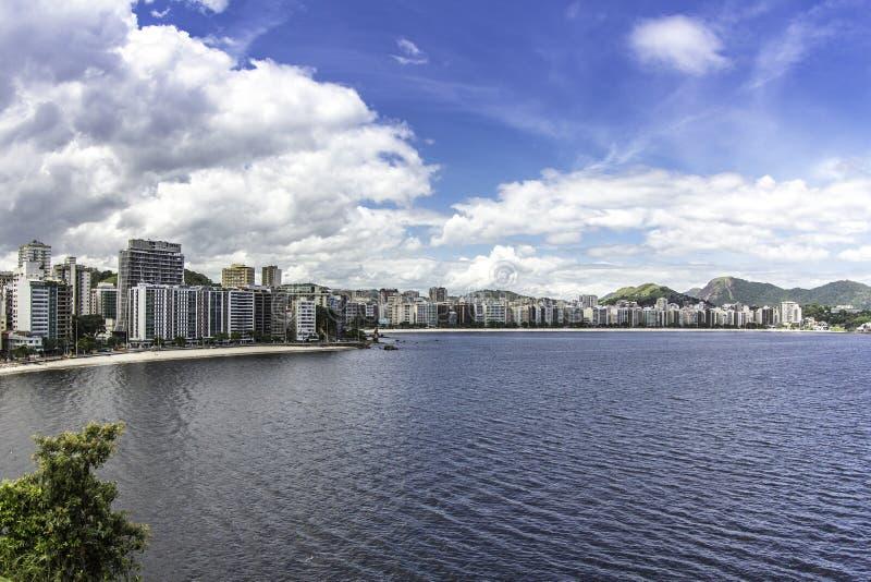 Ville de Niteroi, Brésil photo libre de droits