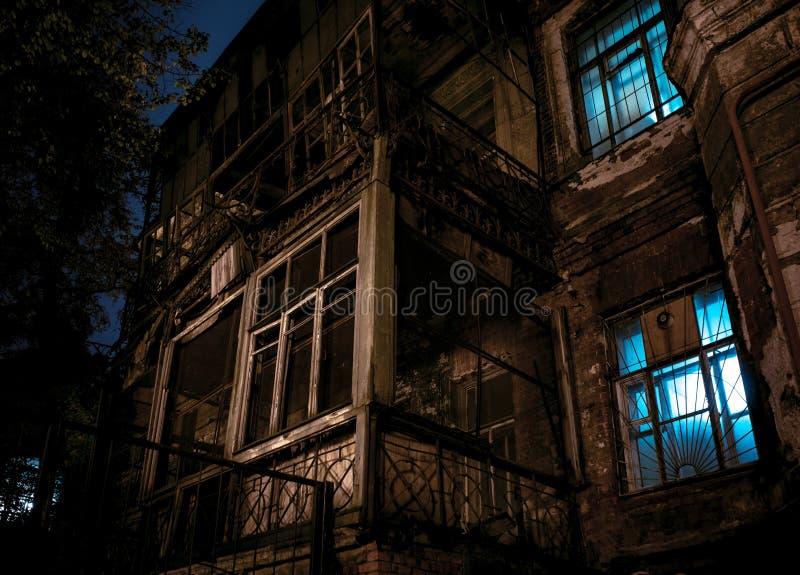 Ville de nuit St Petersburg photos stock