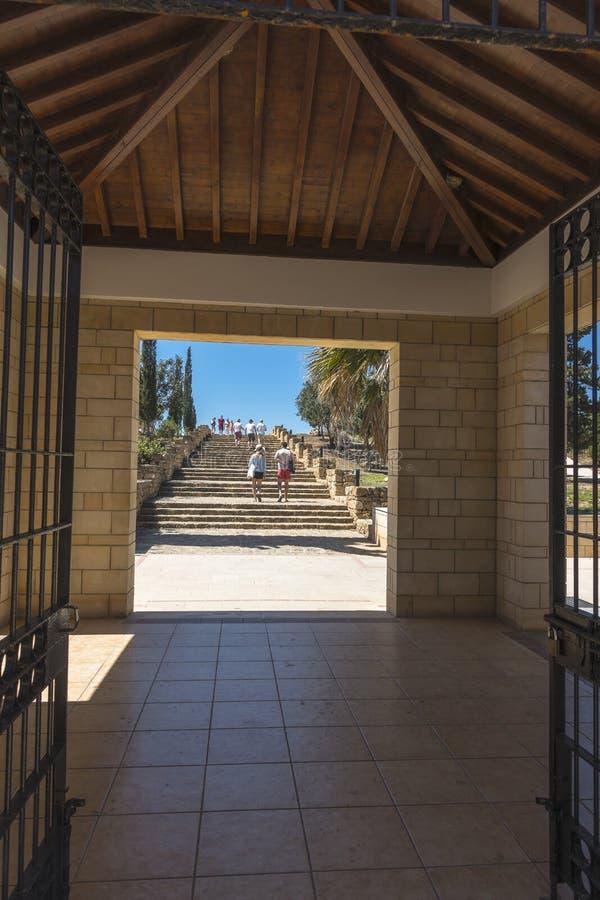 Ville de Paphos sur la Chypre photographie stock