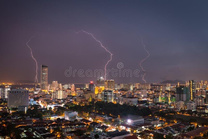 Ville de Penang image stock