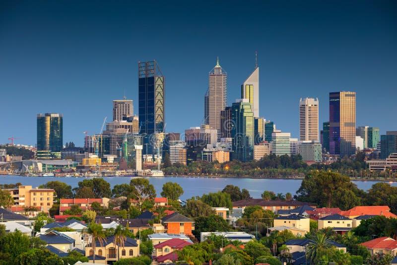 Ville de Perth photo stock