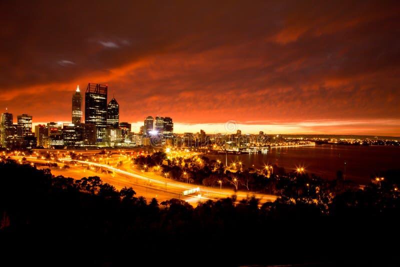 Ville de Perth photos libres de droits