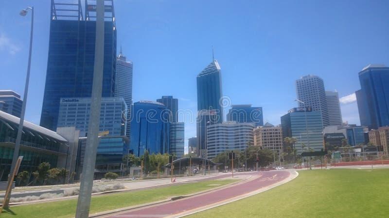 Ville de Perth ! photo stock