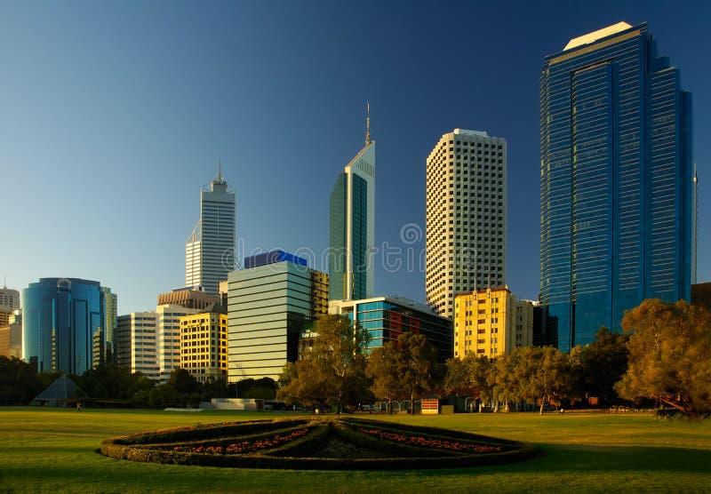 Ville de Perth images stock