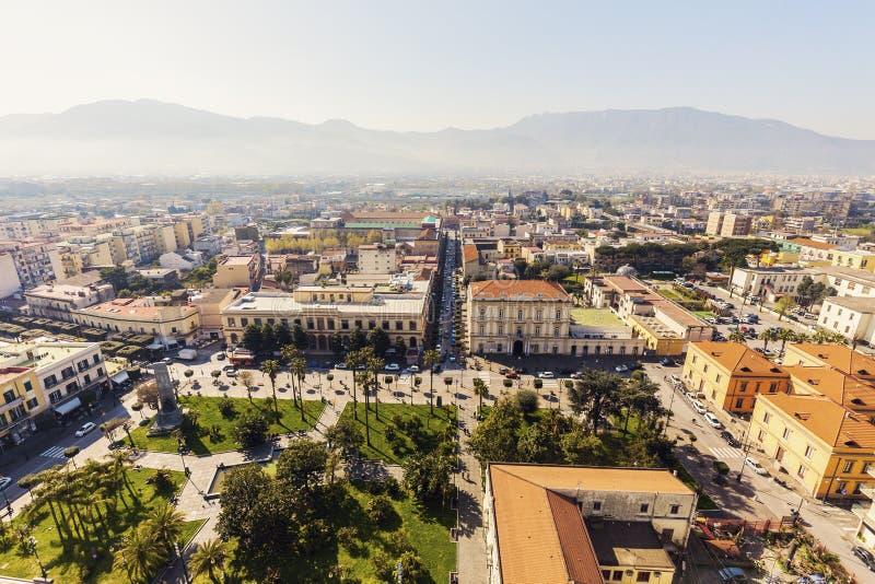 Ville de Pompéi image libre de droits