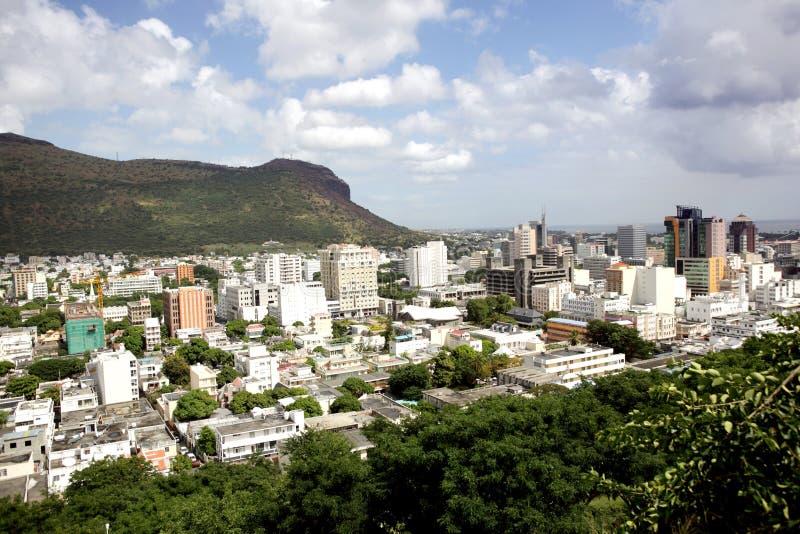 Ville de Port Louis images stock