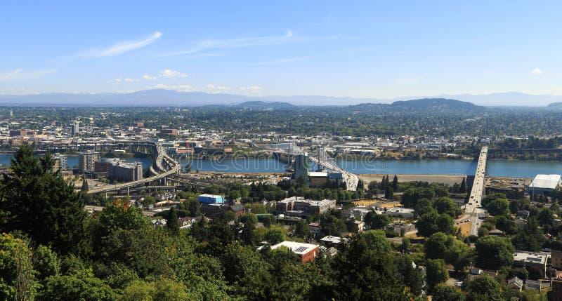 Ville de Portland photo libre de droits