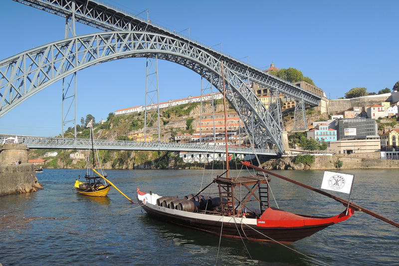 Ville de porto, Portugal, Europa arkivbilder