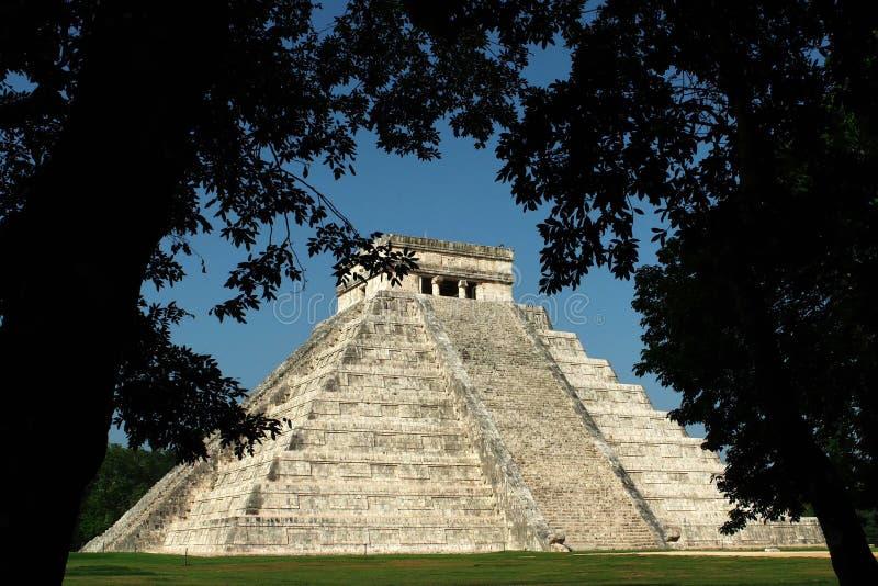 Ville de Pré-Hispanique de Chichen Itza photos stock