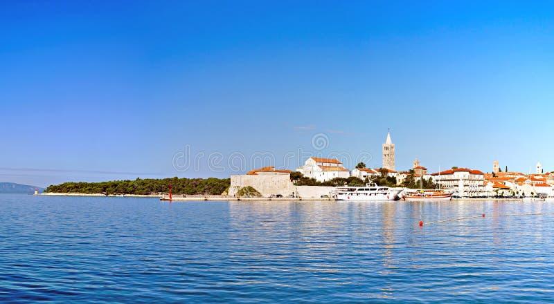 Download Ville de Rab image éditorial. Image du bleu, île, dalmatia - 77158450