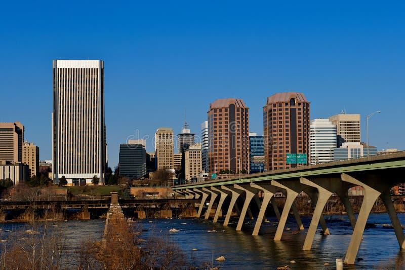 Ville de Richmond la Virginie. image stock