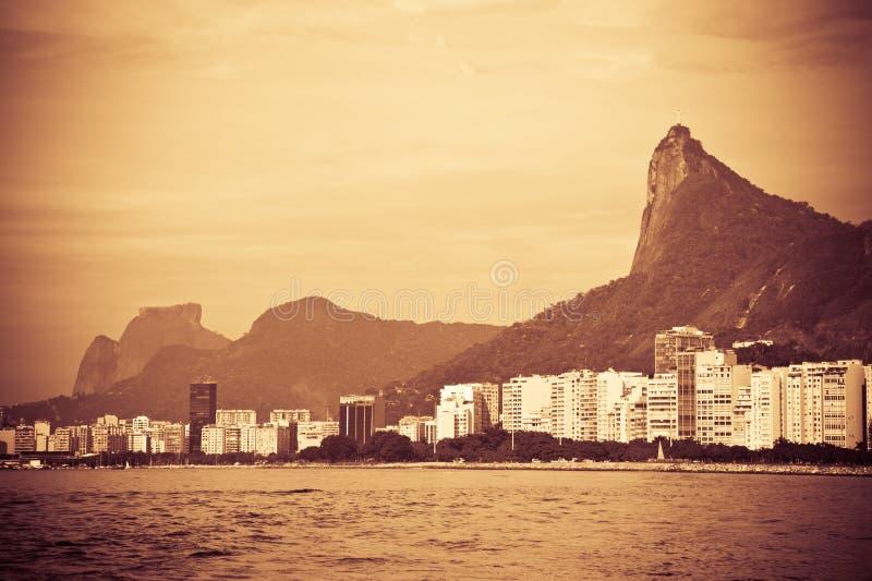 Ville de Rio de Janeiro photo stock