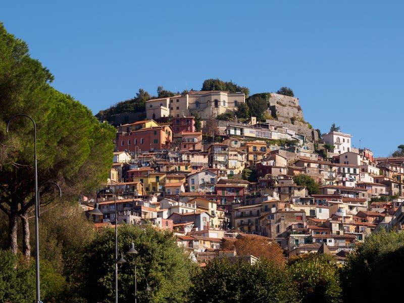 Ville de Rocca di Papa photos libres de droits