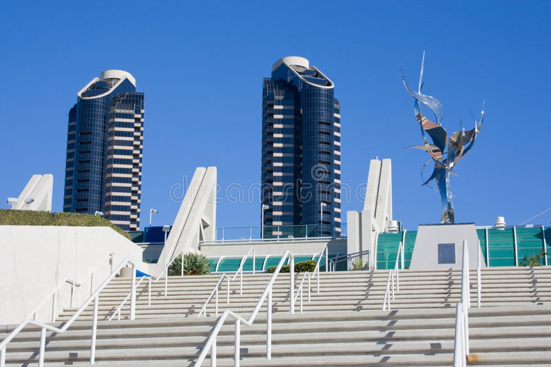 Ville de San Diego photo libre de droits