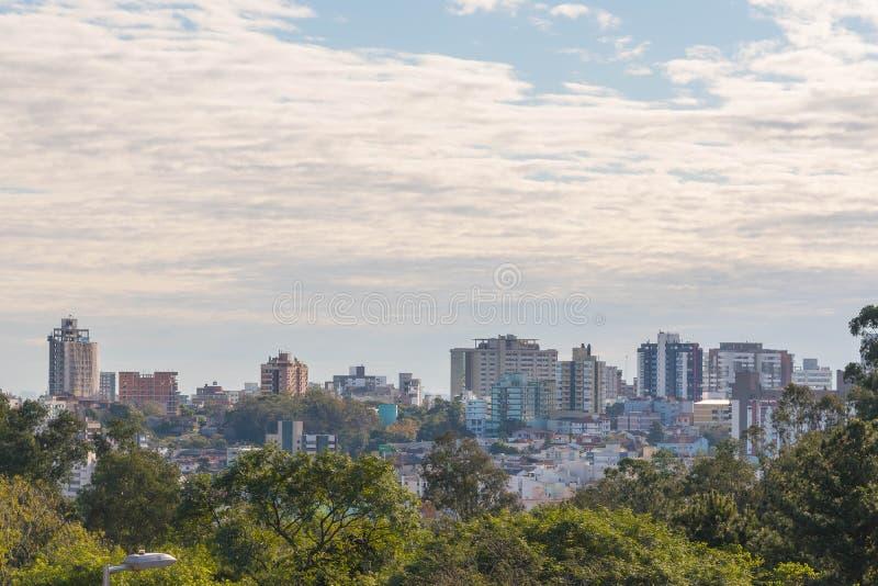 Ville de Santa Maria, Rio Grande do Sul, Brésil 02 photographie stock libre de droits