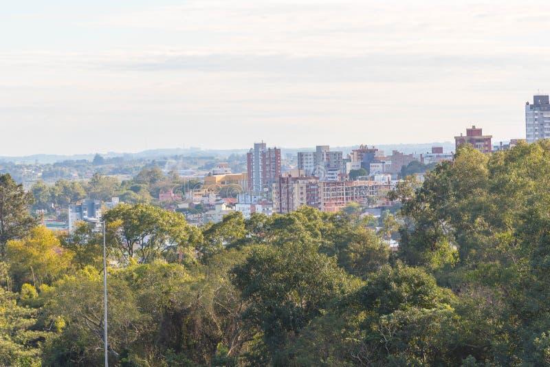 Ville de Santa Maria, Rio Grande do Sul, Brésil 05 images libres de droits