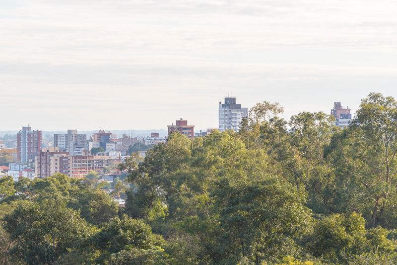 Ville de Santa Maria, Rio Grande do Sul, Brésil 06 images libres de droits