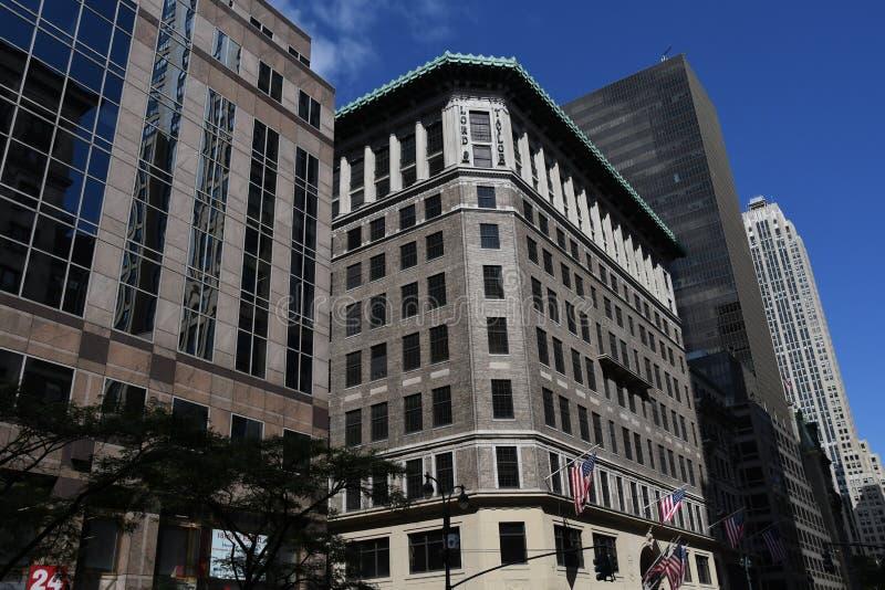Ville de seigneur et de Taylor Building In New York photos stock