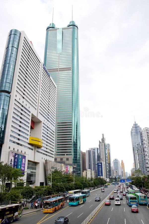 Ville de Shenzhen photo stock