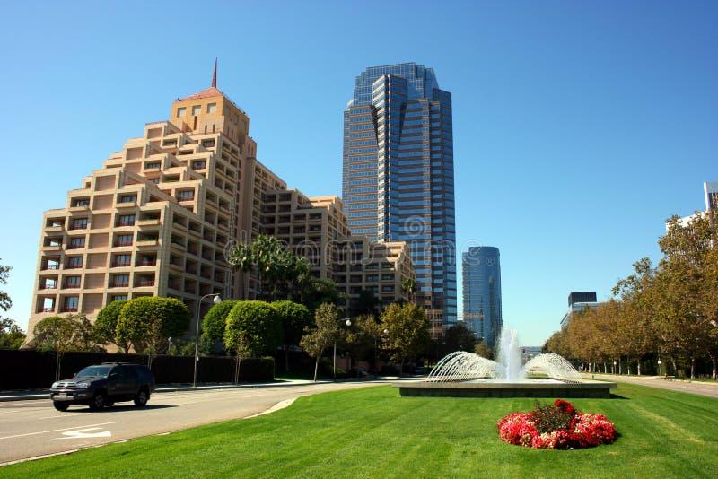 Ville de siècle, Los Angeles, Ca photos libres de droits