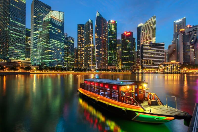 Ville de Singapour photographie stock libre de droits